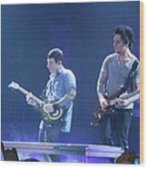 Zach And Syn Wood Print