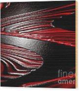 Zag Wood Print