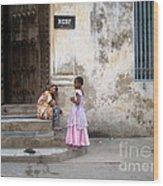 Zanzibar Childrens 05 Wood Print