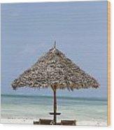 Zanzibar Wood Print