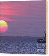 Zanzibar Sunset 21 Wood Print by Giorgio Darrigo