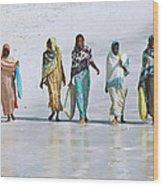 Zanzibar Women 02 Wood Print