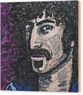 Zappa Wood Print