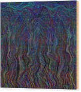 Zebra Falls Wood Print