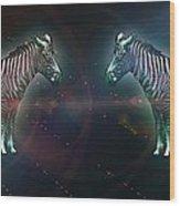 Zebra Nation Wood Print