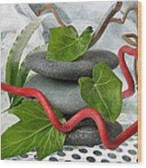 Zen 7 Wood Print