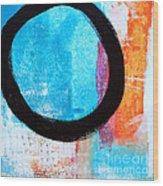 Zen Abstract #32 Wood Print