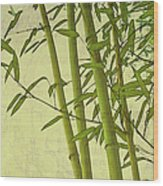 Zen Bamboo Abstract I Wood Print
