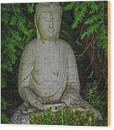 Zen Buddha Wood Print