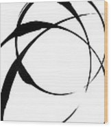 Zen Circles 4 Wood Print