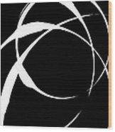 Zen Circles 4 Inverted Wood Print