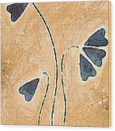 Zen Splendor - Dragonfly Art By Sharon Cummings. Wood Print by Sharon Cummings