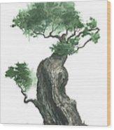 Zen Tree 1000 Wood Print