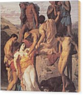 Zenobia Found By Shepherds Wood Print