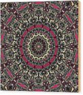 Zentangle No. 7 Kaleidoscope Wood Print