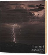 Zeus - Takes A Walk In The Park Wood Print
