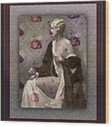 Ziegfeld Girl Wood Print