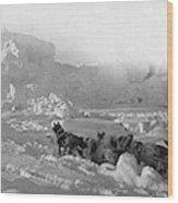 Ziegler Polar Expedition Wood Print