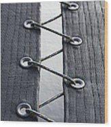 Zig-zag Wood Print