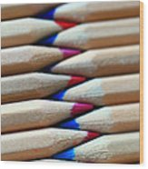 Zigzag Wood Print