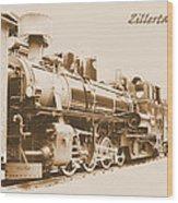 Zillertal Railway Wood Print