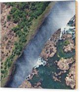 Zimbabwe, Victoria Falls Wood Print