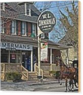 Zimmerman's Store Intercourse Pennsylvania Wood Print