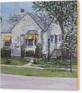 Zion House Wood Print