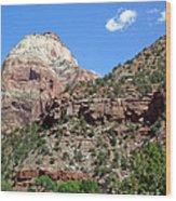 Zion National Park 2 Wood Print