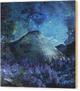 Zion Nights Wood Print