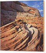Zion Wall Arch Wood Print