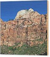 Zion Wall Wood Print