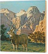 Zioncountry Muleys Wood Print