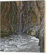 Zions 002 Wood Print