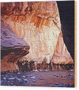 Zions 047 Wood Print