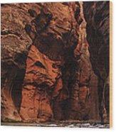 Zions 30 Wood Print