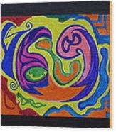 Zodiac #69 Wood Print