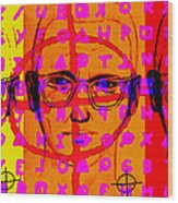 Zodiac Killer Three With Code And Sign 20130213 Wood Print