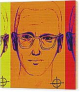 Zodiac Killer Three With Sign 20130213 Wood Print by Wingsdomain Art and Photography