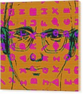 Zodiac Killer With Code And Sign 20130213m80 Wood Print