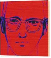 Zodiac Killer With Sign 20130213m128 Wood Print