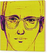 Zodiac Killer With Sign 20130213m68 Wood Print by Wingsdomain Art and Photography