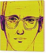 Zodiac Killer With Sign 20130213m68 Wood Print