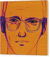 Zodiac Killer With Sign 20130213m98 Wood Print