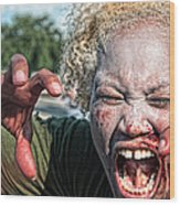 Zombie Run Nola 1 Wood Print