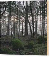 Zombie Trees Wood Print
