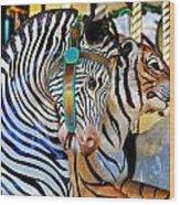 Zoo Animals 2 Wood Print