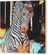 Zoo Animals 3 Wood Print