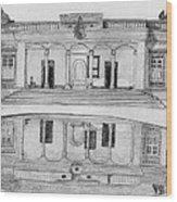 Zoroastrian Temple Wood Print