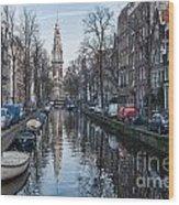 Zuiderkerk Amsterdam Wood Print